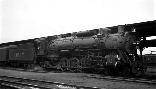 4-8-2 1522 at Birmingham, Alabama on December 28, 1937