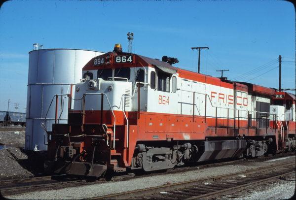 B30-7 864 at Kansas City, Missouri on March 15, 1980 (James Primm)