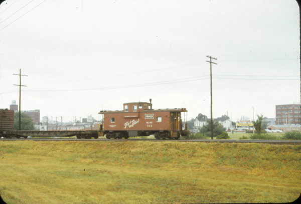 Caboose 223 at Memphis, Tennessee (date unknown)