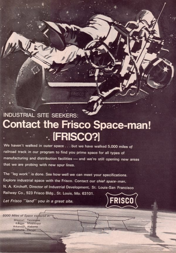 Contact the Frisco Space-man (Publication Unknown) April 1969