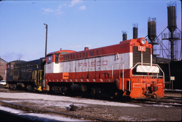 DS-4-4-1000 241 at Decatur, Illinois in March 1970 (J.W. Stubblefield)
