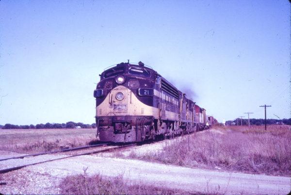 F7A 21 near Altamont, Kansas (date unknown) (Mac Owen - Blackhawk Films)