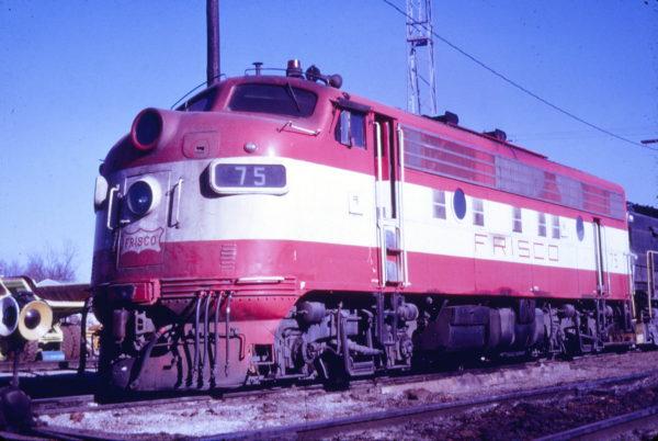 F9A 75 at Springfield, Missouri (date unknown) (Mac Owen - Blackhawk Films)