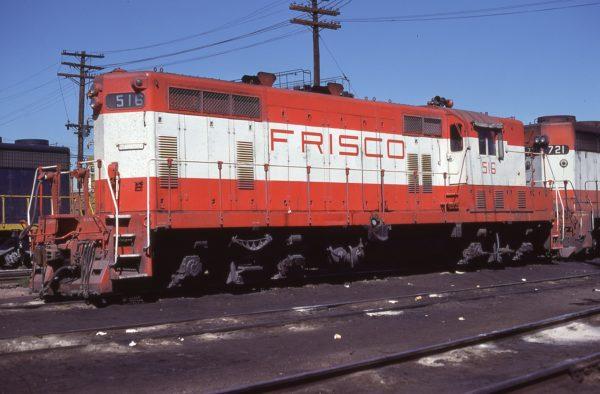 GP7 516 at Denver, Colorado on September 16, 1979