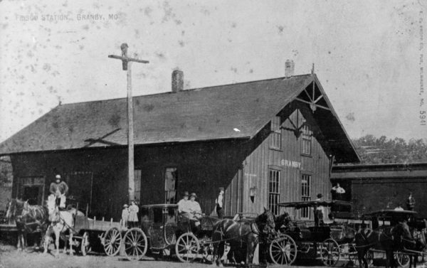 Granby, Missouri Depot (date unknown)