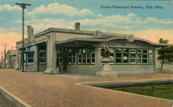 Postcard - Ada, Oklahoma