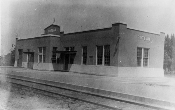 Poteau, Oklahoma Depot (date unknown)