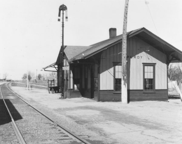 Purdy, Missouri Depot (date unknown)