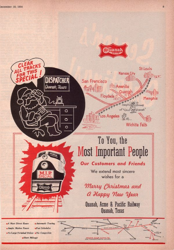 The Traffic World - December 18, 1954