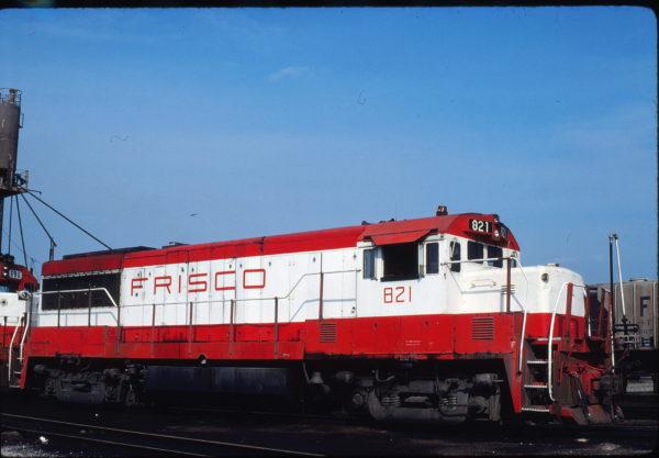 U25B 821 at St. Louis, Missouri on August 30, 1980 (Ken Kessler)