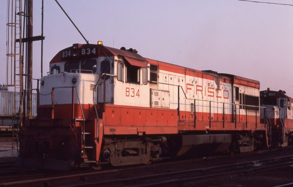 U30B 834 at St. Louis, Missouri in September 1979 (M.A. Wise)