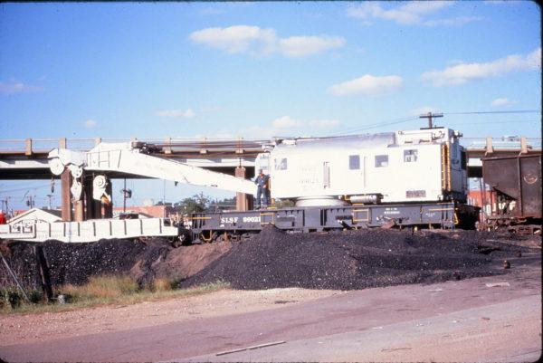 Crane 99021 at Carrollton, Texas on June 28, 1968 (Dick Kuelbs)