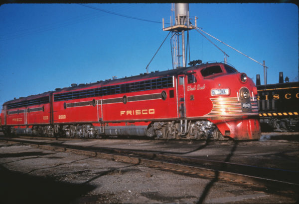 E7A 2003 (Steel Dust) at St. Louis, Missouri on February 28, 1959 (Al Chione)