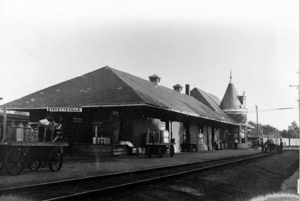 Fayetteville, Arkansas Depot