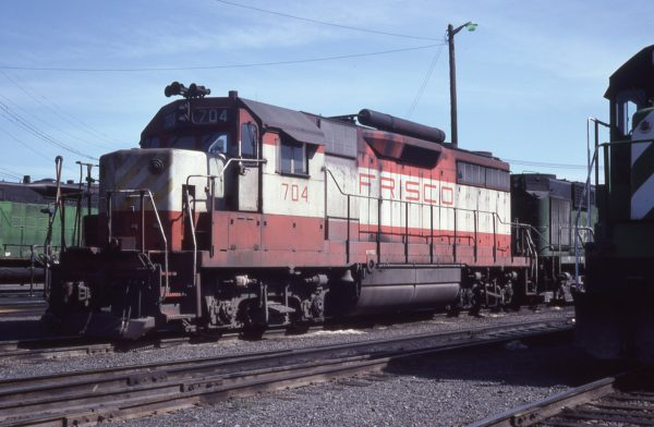 GP35 704 (location unknown) in May 1979