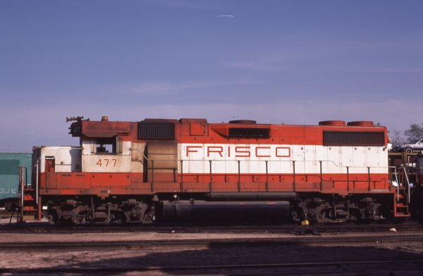 GP38-2 477 at St. Louis, Missouri on May 13, 1980 (M.A. Wise)