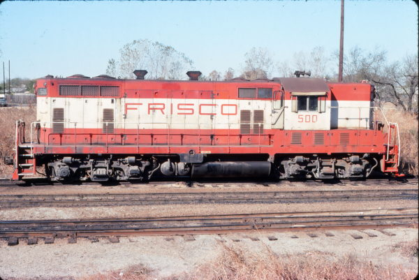 GP7 500 at Irving, Texas on November 30, 1975