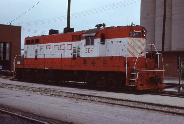 GP7 584 at Wichita, Kansas on May 2, 1978 (Jerry Bosanek)