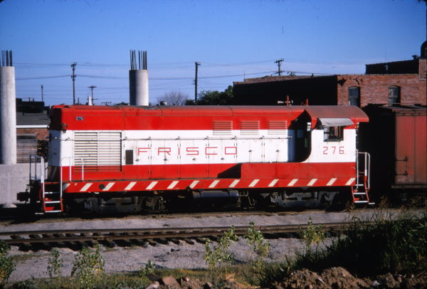 H-10-44 276 at Tulsa, Oklahoma in July 1970 (Keith Ardinger)