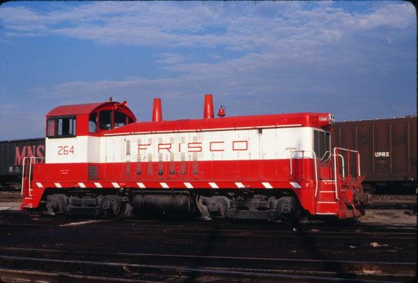 NW2 264 at St. Louis, Missouri on August 31, 1980 (David Johnston)