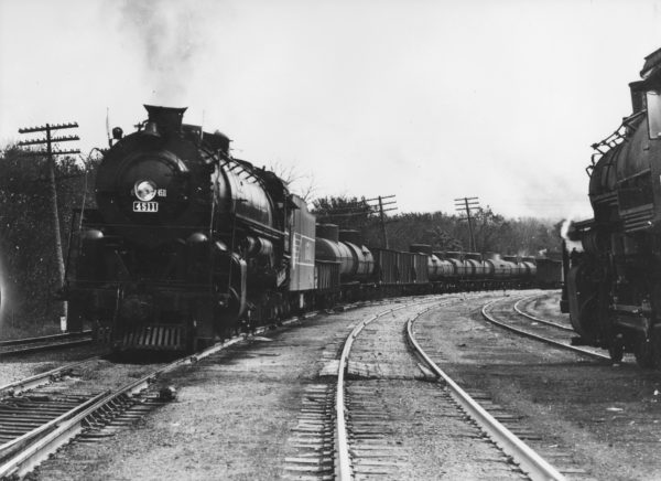 4-8-4 4511 Monett, MO, (date unknown)