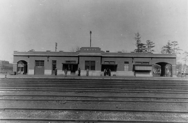 Amory, Mississippi Depot (date unknown)
