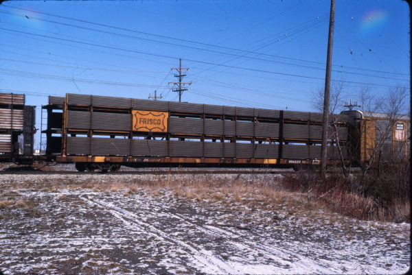 Autorack 963000 at Kirtland, Ohio (date unknown)