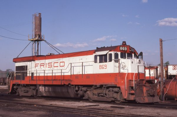 B30-7 869 at St. Louis, Missouri on April 29, 1979 (M.A. Wise)