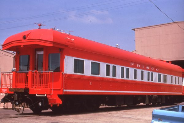 Business Car 1 at Memphis, Tennessee on May 13, 1975