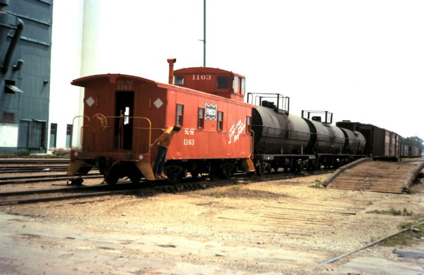Caboose 1163 (date and location unknown)