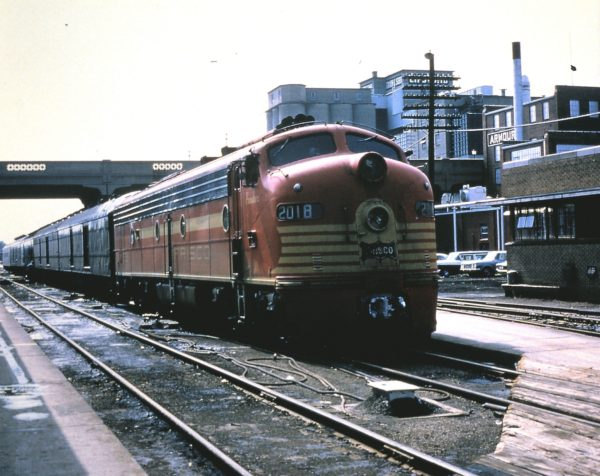 E8A 2018 (Ponder) at Springfield, Missouri in March 1965 (George Strombeck)