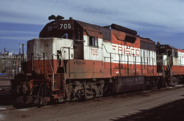 GP35 705 at Salt Lake City, Utah on April 10, 1978 (Ryan Ballard)