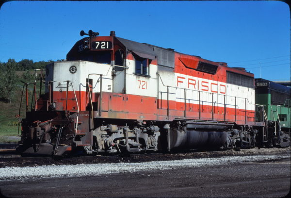 GP35 721 at Omaha. Nebraska in September 1979 (Jerry Bosanek)