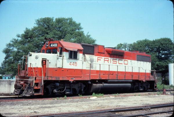 GP38-2 448 (location unknown) in June 1978