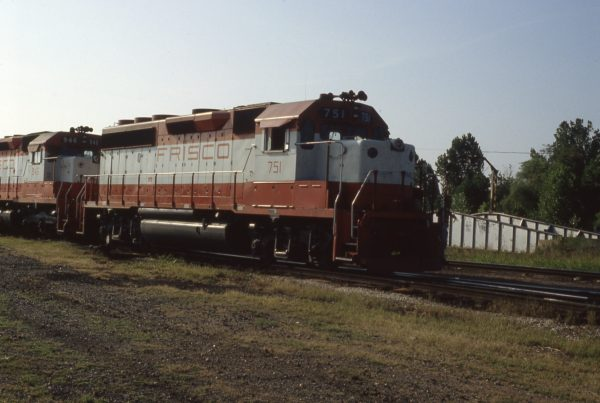 GP40-2 751 at Memphis, Tennessee on September 1, 1980 (P.B. Wendt)