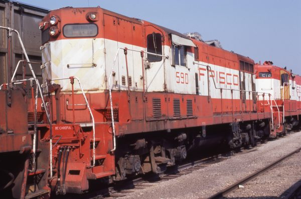 GP7 590 at Oelwein, Iowa on May 25, 1980 (Dundeen Photos)