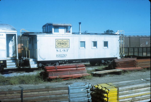 MOW Caboose 101180 at Fort Smith, Arkansas (date unknown)