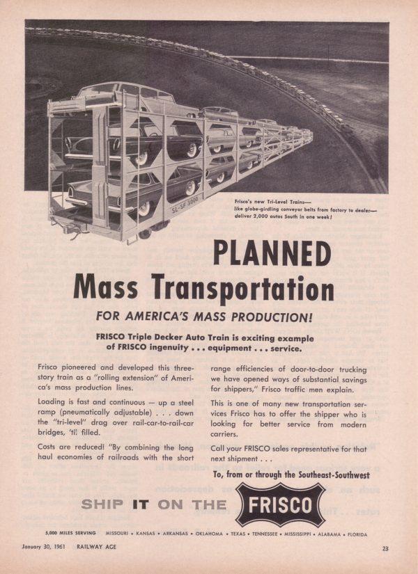 Railway Age - January 30, 1961