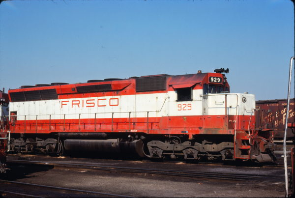 SD45 929 (location unknown) in July 1978