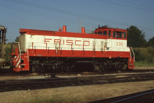 SW1500 339 at Memphis, Tennessee on September 1, 1980 (P.B. Wendt)