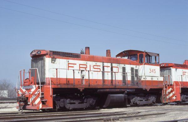 SW1500 345 at Springfield, Missouri on March 26, 1980 (Bob Graham)