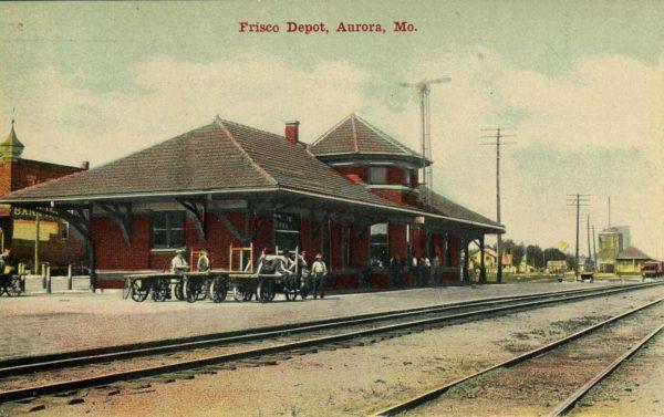 Aurora, Missouri Depot