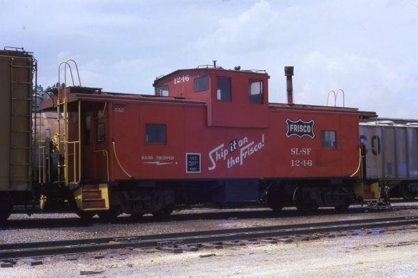 Caboose 1246 at Memphis,Tennessee in June 1973 (H. Robey)