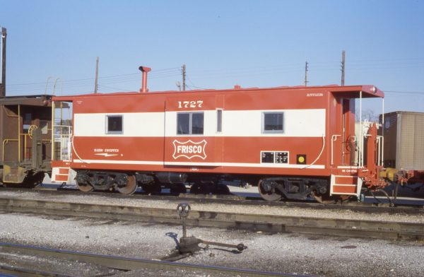 Caboose 1727 (location unknown) in November 1979