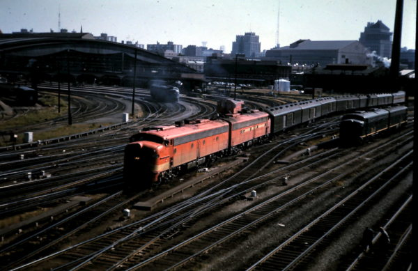 E-Units at Union Station - St. Louis, Missouri (date unknown)