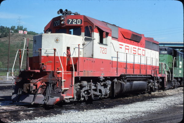 GP35 720 at Omaha, Nebraska in September 1979 (Jerry Bosanek)