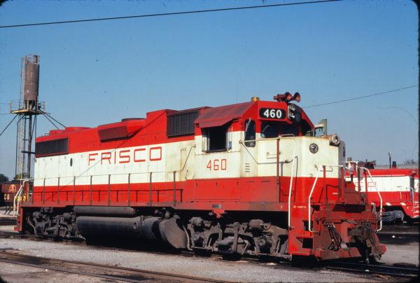 GP38-2 460 at Shrewsbury, Missouri on June 9, 1978 (Michael Wise)
