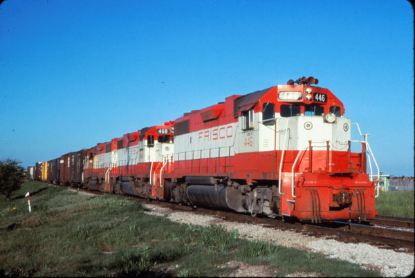 GP38-2s 446 and 468 (date and location unknown)