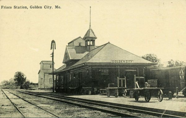 Golden City, Missouri Depot