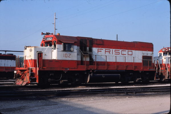 GP15-1 102 at Springfield, Missouri on May 25, 1980 (Allen Clum)